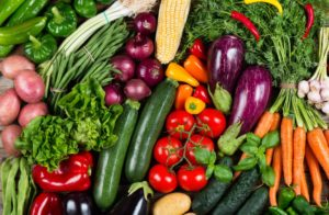 Vegetables are high in folic acid